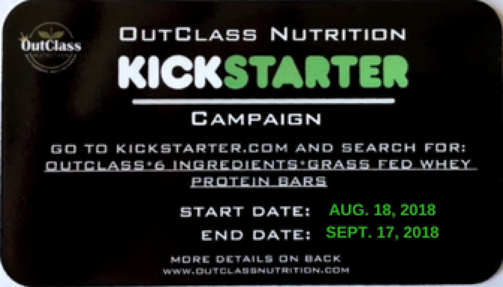 Kickstarter Launch Card