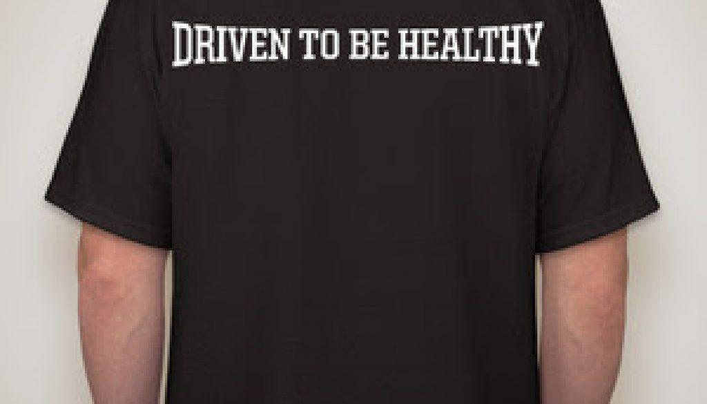 T Shirt Black Back 1